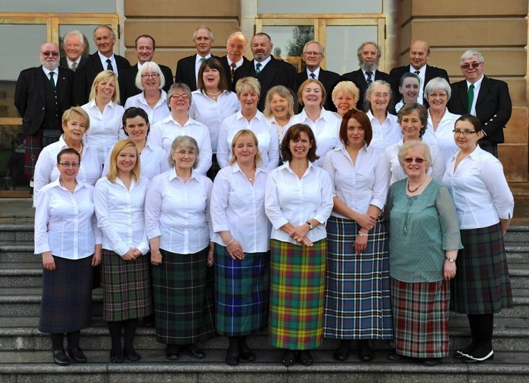 Mull Gaelic Choir at the National Mod, Paisley, October 2013