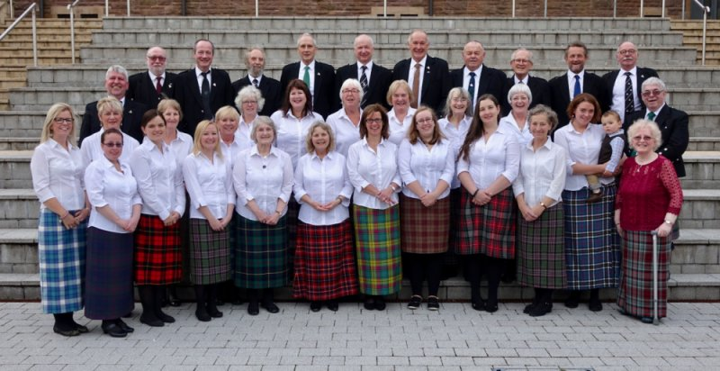 Mull Gaelic Choir at the National Mod October 2016