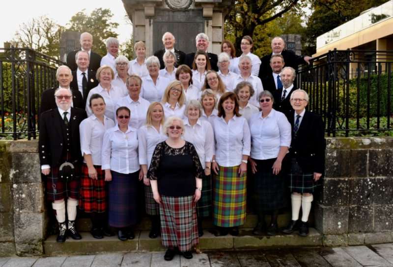 Mull Gaelic Choir at the National Mod October 2018
